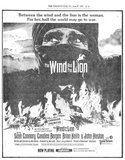 THE WIND AND THE LION - JUNE 27, 1975