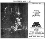 STAR WARS - JUNE 11, 1977