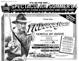 INDIANA JONES AND THE TEMPLE OF DOOM - MAY 5, 1984