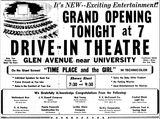 October 2, 1947 Grand Opening ad courtesy Local History Collection : Peoria Public Library.