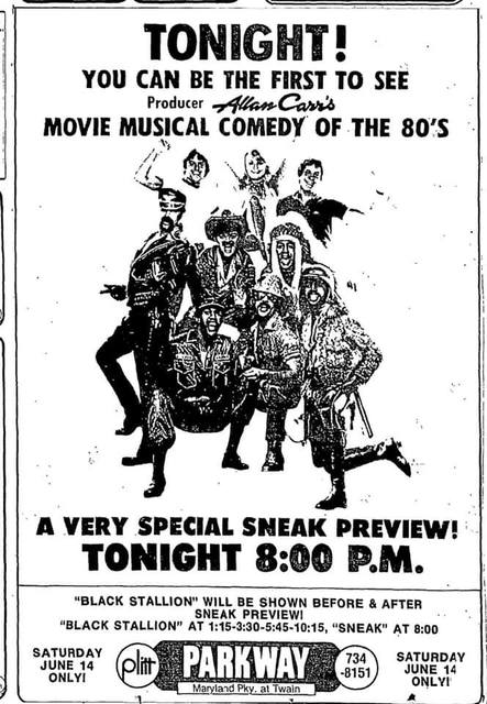 June 14, 1980 print ad courtesy Richard Stegman Jr.