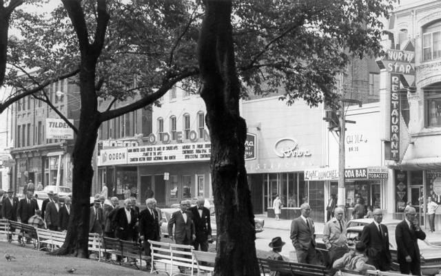 Odeon Saint John in 1968