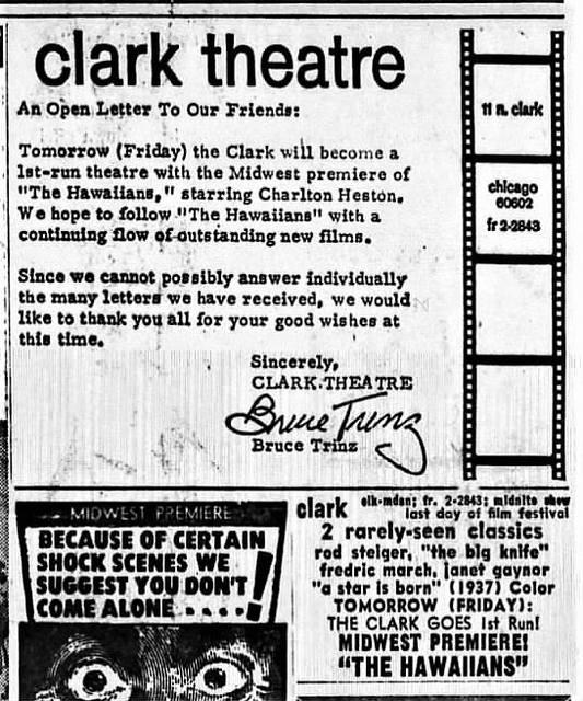 June 25, 1970 print ad via Tim O'Neill.