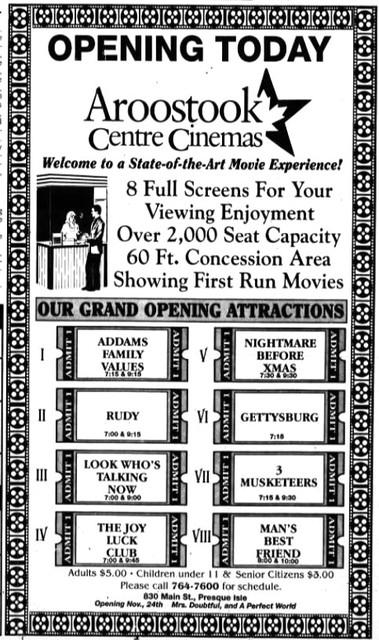 Aroostook Centre Cinemas