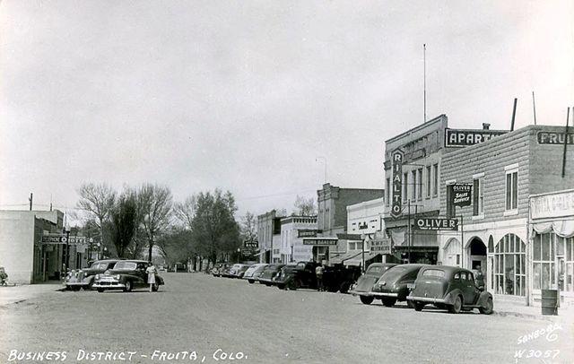 Circa 1946-`48 photo credit Historical Photos of Fruita & Western Colorado.