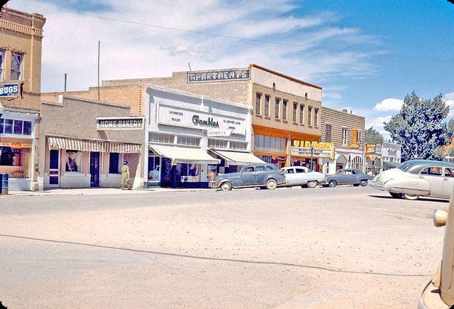 Circa 1951 photo credit Historical Photos of Fruita & Western Colorado.