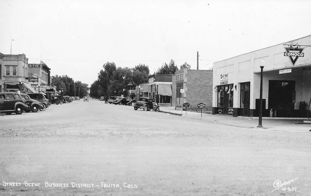 Late `30s/early `40s photo credit Historical Photos of Fruita & Western Colorado.