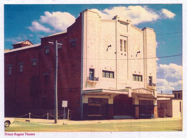 Prince Regent Theatre  36 Cunninghame Street, Sale, VIC - Magnificent in colour