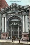 "[""Colonial Theatre Chicago Illinois Vintage Postcard""]"