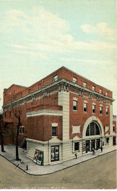 Lyric Theatre Mobile Alabama Vintage Postcard