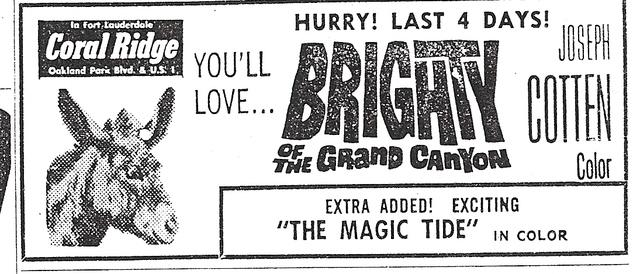 Coral Ridge Theatre Ad 1967