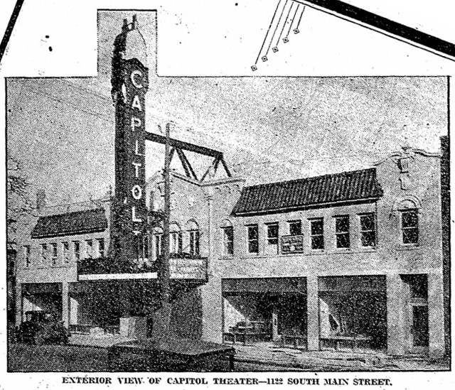 1928 photo from the grand opening ad