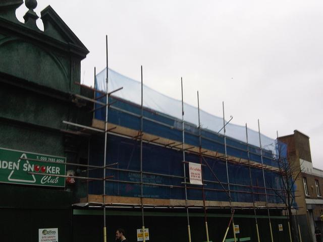 alas November scaffolding