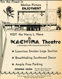 Advertising for the Kachina from 1963