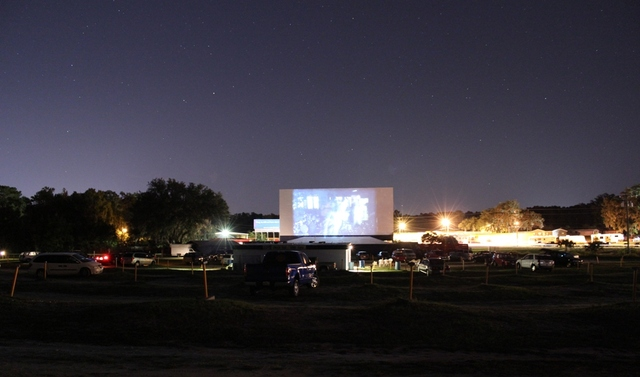 Ocala Drive-In Theatre, October 29, 2011