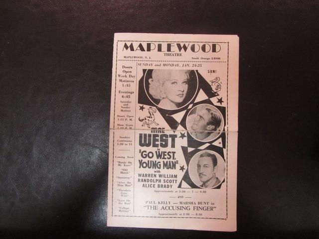 Handbill from 1936