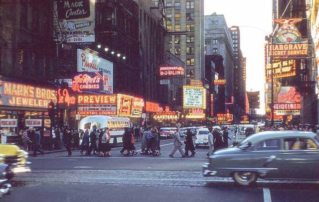 1956 photo credit and copyright © Michael W. Gorth / Lost Colour Gallery.