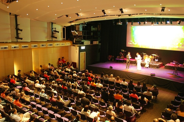 The auditorium of The Vine