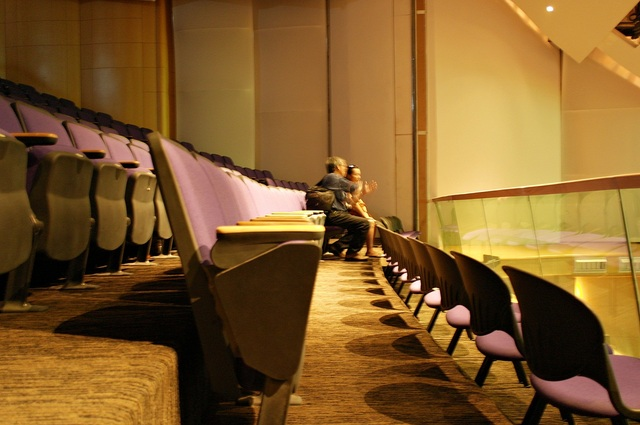The balcony of the auditorium of The Vine