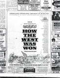 "<p>The American premiere of ""How the West Was Won"" attracted a spectacular turnout of movie stars. 12 of them were actually in the picture.</p>"