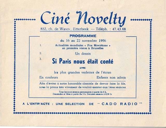 Novelty Cinema