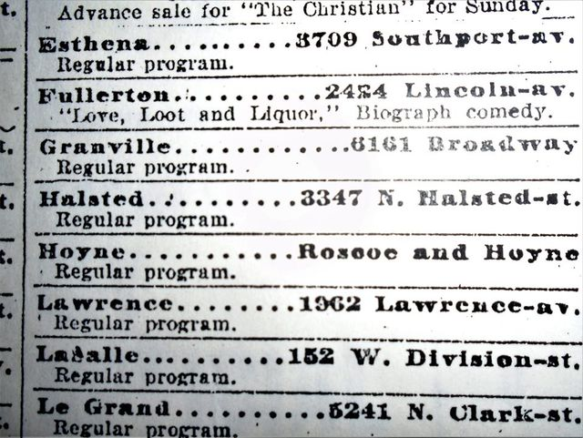 September 9, 1914 print ad courtesy Tim O'Neill.
