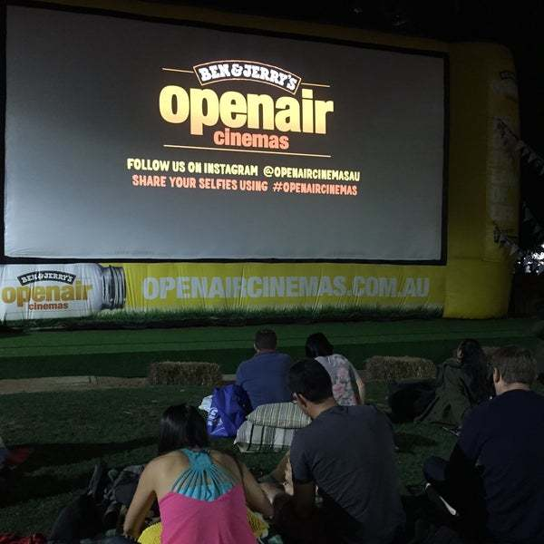 Ben & Jerry's Openair Cinema Brisbane  Russell Street, Brisbane, QLD