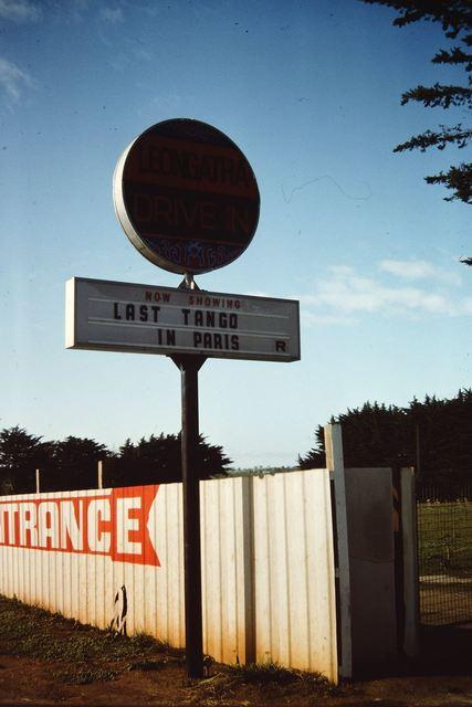 Leongatha Drive-In  South Gippsland Highway, Leongatha, VIC  - 1972