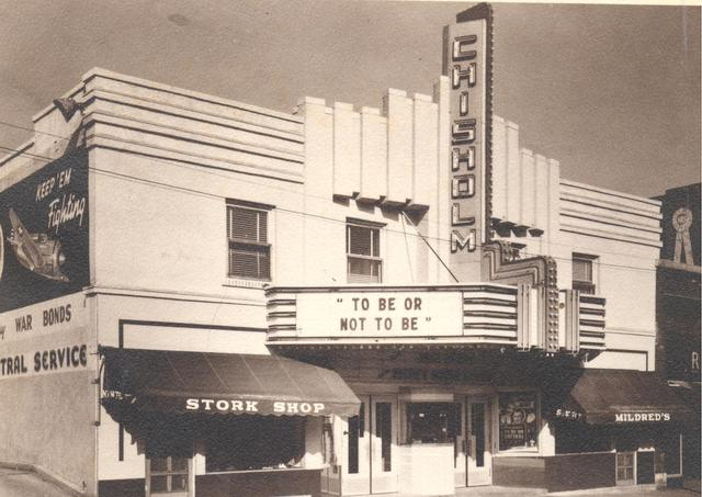 Chisholm Theater 1942