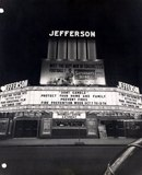 Exterior of the Jefferson Theatre in downtown Fort Wayne, IN.