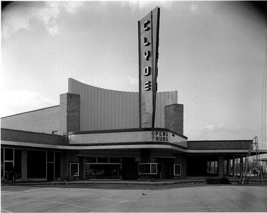 Opening Day of the Clyde Theatre in Quimby Village, Fort Wayne, IN.