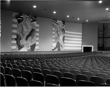 Interior of the Clyde Theatre