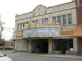 Current exterior of the Rialto Theatre, just south of downtown Fort Wayne, IN