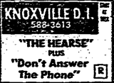 """[""""Knoxville Drive-In""""]"""