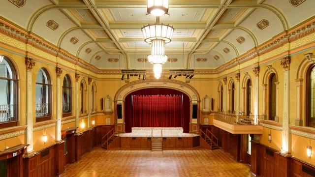 Hawthorn Town Hall 360 Burwood Road, Hawthorn, VIC. Traditional proscenium magnificence.