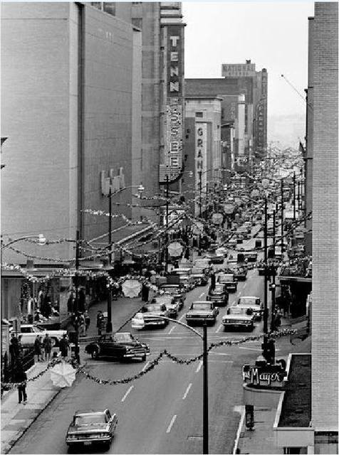 November 28, 1964 photo courtesy Tennessee Good Old Days Facebook page.