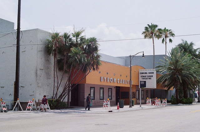 Byron Carlyle Theater Miami Beach