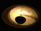 ceiling light in main auditorium vestibule