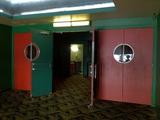 Doors to from lobby to main auditorium vestibule