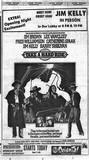 """TAKE A HARD RIDE"", Friday, August 8, 1975 print ad via Tim O'Neill."