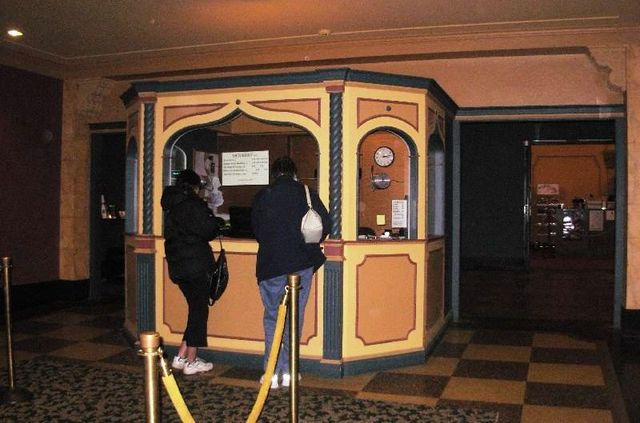 New, exotic ticket booth