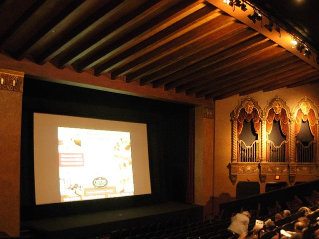 Restored, historic, auditorium # 1