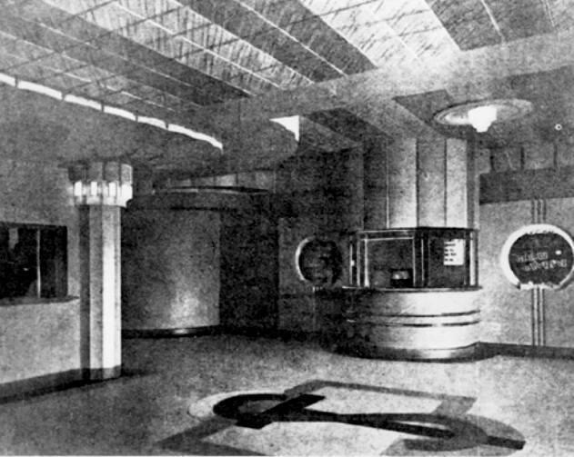 Sun Theatre  8 Ballarat Street, Yarraville, VIC  -  Foyer 1940's
