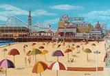 Ocean Park Pier, Santa Monica (1926) poster credit & copyright © 2020 The Stan Cline Nostalgia Gallery.