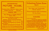 "[""Gothenburg Picture House flyer March 1939""]"
