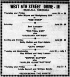 West 5th Street Drive-In