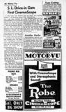 "[""Newspaper article announcing Cinemascope.""]"
