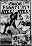 """Faster, Pussycat! Kill! Kill!"" opens at the Plantation Drive-In, from The Des Moine Tribune, Friday, November 11th, 1966e"