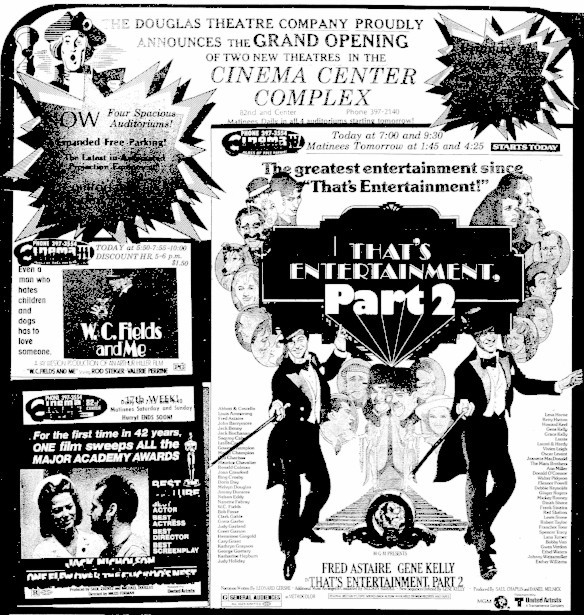 June 18th, 1976 grand opening ad as a quad