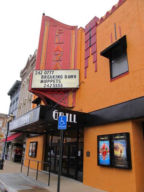 Plaza Theatre, Ottawa KS  November 2011